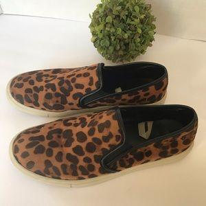 Mossimo Supply Co Animal Print Slip On Shoes